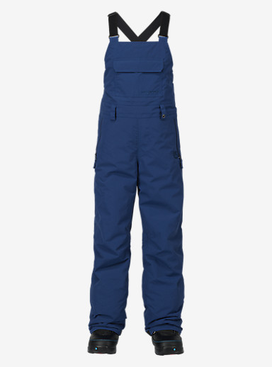 Burton Kids' Skylar Bib Pant shown in Boro