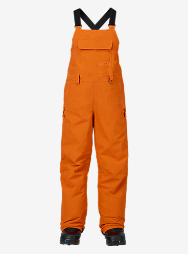 Burton Kids' Skylar Bib Pant shown in Maui Sunset