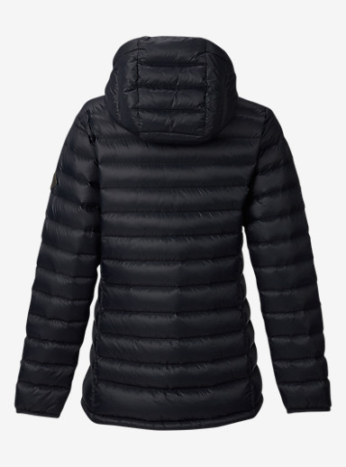 Burton Evergreen Hooded Down Insulator shown in True Black
