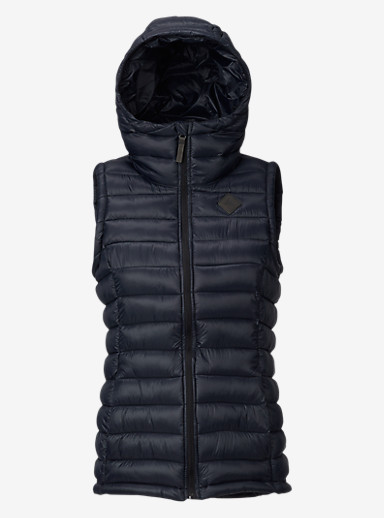 Burton Evergreen Synthetic Vest Insulator shown in True Black