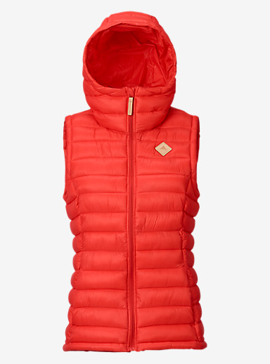 Burton Evergreen Synthetic Vest Insulator shown in Coral