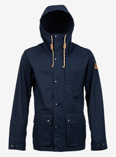 Burton Boroughs Parka shown in Eclipse