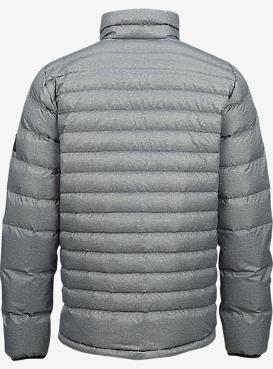Burton Evergreen Down Insulator shown in Gray Heather