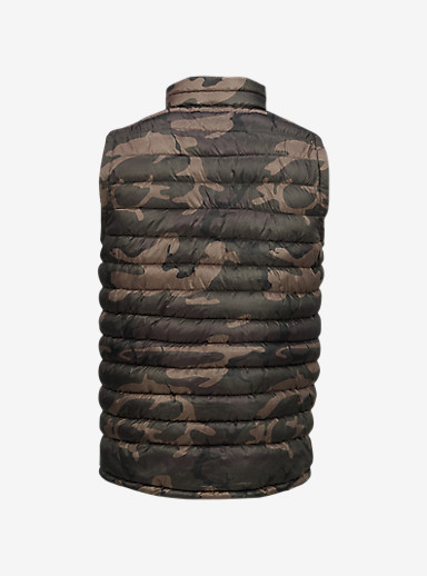 Burton Evergreen Synthetic Insulator Vest shown in Bkamo