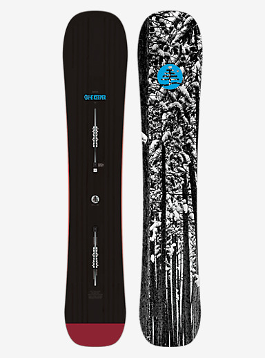 Burton Family Tree Gate Keeper Snowboard shown in 163