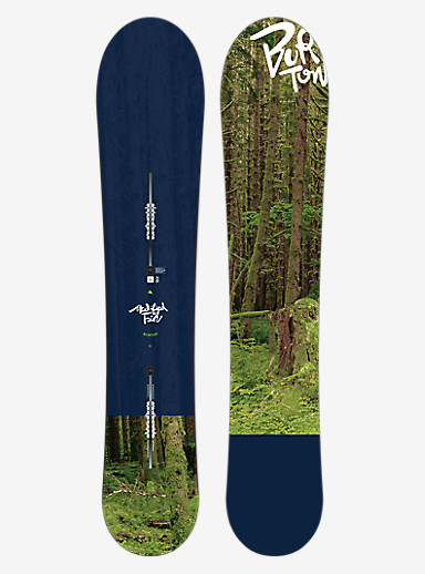 Burton Modified Fish Snowboard shown in 151
