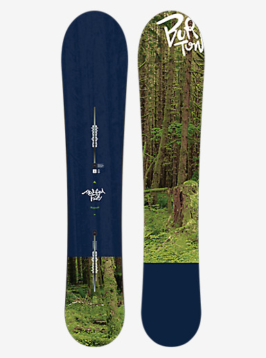 Burton Modified Fish Snowboard shown in 156