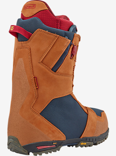 Burton x New Balance Imperial Snowboard Boot shown in Brown / Blue