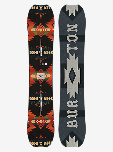 Burton Trick Pony Snowboard shown in 154