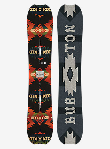 Burton Trick Pony Snowboard shown in 158