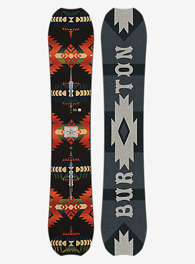 Burton Trick Pony Snowboard shown in 162