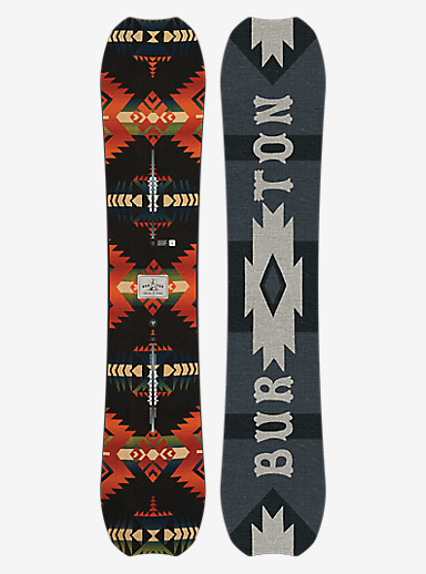 Burton Trick Pony Snowboard shown in 158W