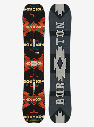 Burton Trick Pony Snowboard shown in 162W