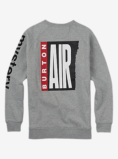 Burton Mystery Air Crew shown in Gray Heather