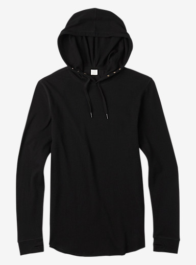 Analog Overlay Pullover Thermal shown in True Black