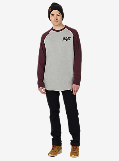 Analog Agonize Long Sleeve T-Shirt shown in Grey Heather