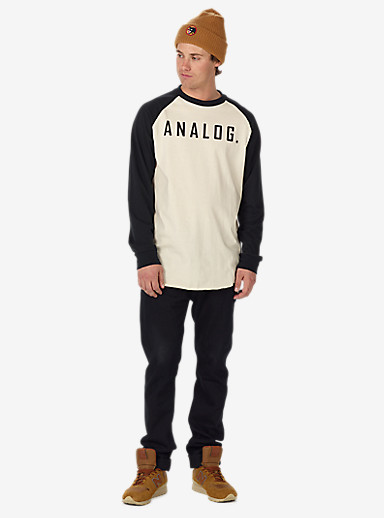 Analog Agonize Long Sleeve T-Shirt shown in Monochrome