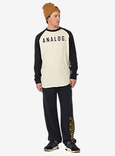 Analog Company Sweatpant shown in True Black