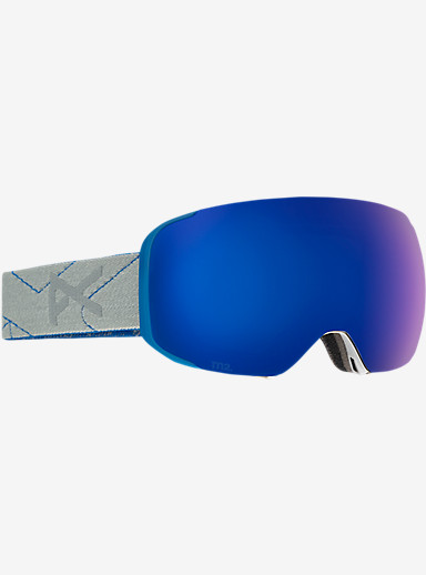 anon. M2 MFI Goggle shown in Frame: Gray, Lens: Blue Cobalt