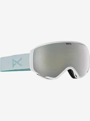 anon. WM1 MFI Goggle shown in Frame: White, Lens: Silver Solex