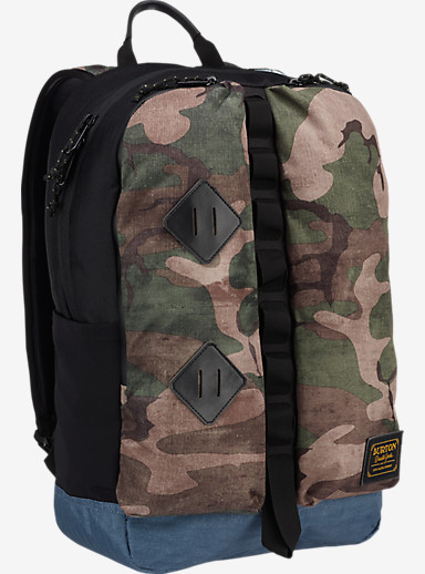 Burton Homestead Backpack shown in Bkamo Print