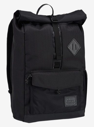 Burton Export Backpack shown in True Black Heather Twill