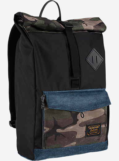 Burton Export Backpack shown in Bkamo Print