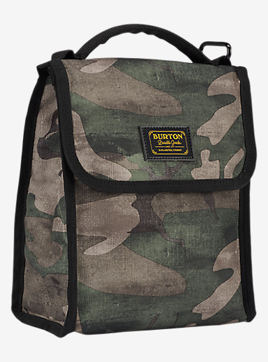 Burton Lunch Sack shown in Bkamo Print