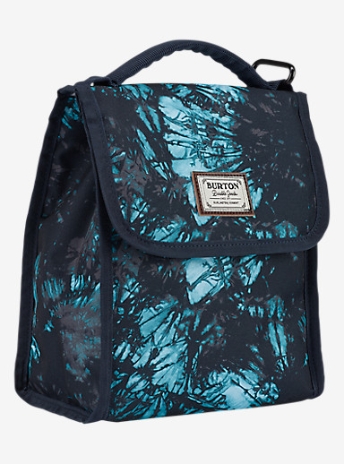 Burton Lunch Sack shown in Tie Dye Trench Print