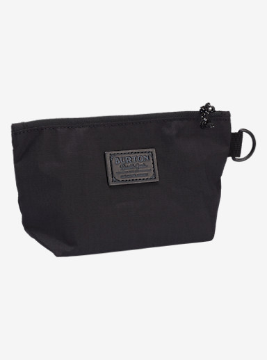 Burton Utility Pouch Small shown in True Black Triple Ripstop