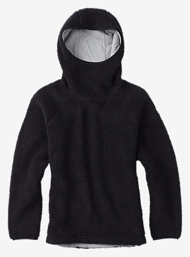 Burton Lynx Pullover Fleece shown in True Black