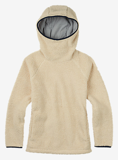 Burton Lynx Pullover Fleece shown in Canvas