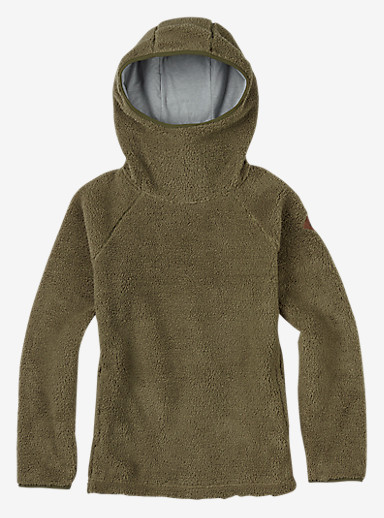 Burton Lynx Pullover Fleece shown in Vetiver