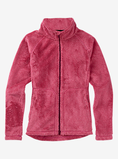 Burton Mira Full-Zip Fleece shown in Sangria
