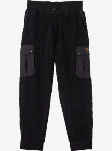 Burton Tribute Fleece Pant shown in True Black