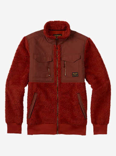 Burton Bower Full-Zip Fleece shown in Picante