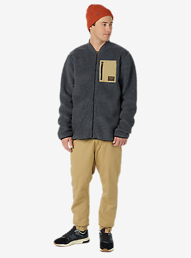 Burton Grove Full-Zip Fleece shown in Faded