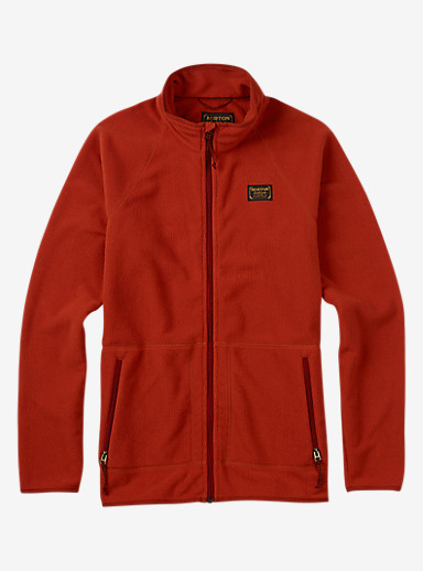 Burton Ember Full-Zip Fleece shown in Picante
