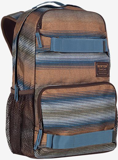 Burton Treble Yell Rucksack angezeigt in Beach Stripe Print