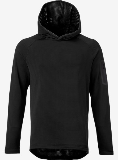 Burton [ak] Grid Hoodie shown in True Black