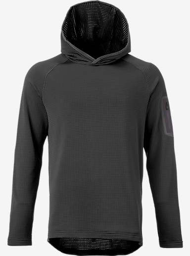 Burton [ak] Grid Hoodie shown in Faded Heather