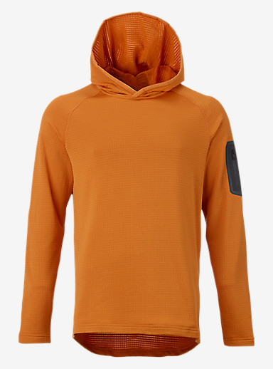 Burton [ak] Grid Hoodie shown in Burnout