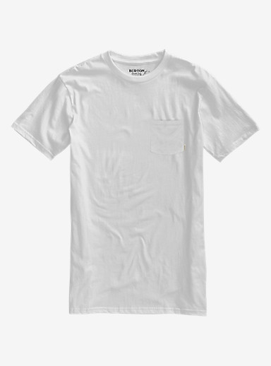 Burton Low Life SS Pocket Tee shown in Stout White