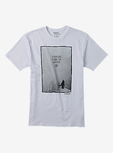Burton Drop In Short Sleeve T Shirt shown in Stout White