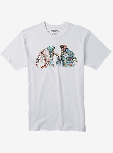Burton Turner Short Sleeve T Shirt shown in Stout White