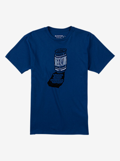 Burton Hangover Short Sleeve T Shirt shown in True Blue