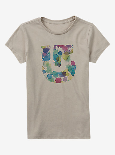 Burton Penelope Short Sleeve Crew shown in Dove Heather
