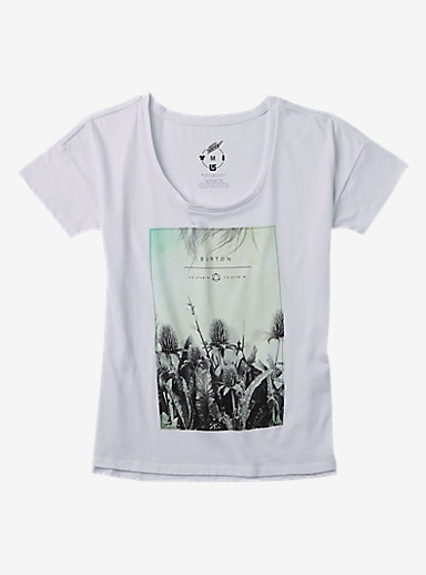 Burton Michelle T Shirt shown in Stout White