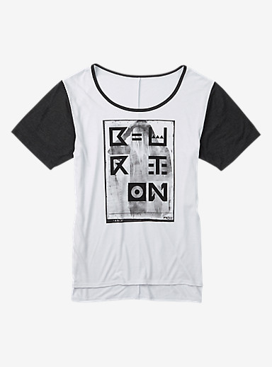 Burton Temple T Shirt shown in Stout White