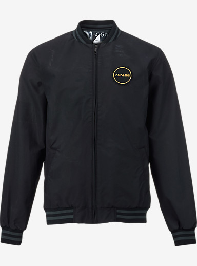 Analog League Jacket shown in True Black